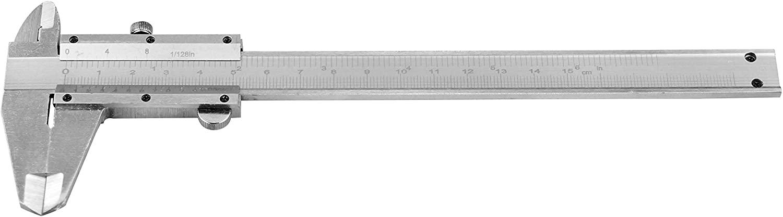 SE Steel Vernier Caliper, 6-Inch Measuring Range - 781BC