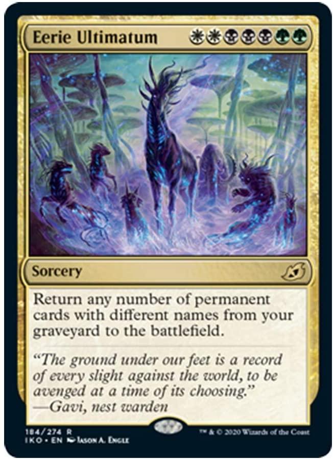 x4 Eerie Ultimatum 184/274 Rare Ikoria Lair of Behemoths