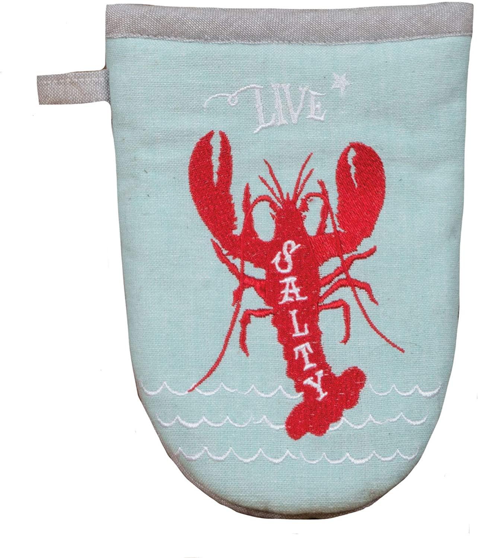 Kay Dee Designs Live Salty Lobster Grabber Oven Mitt, 5.5 x 7.5, Various