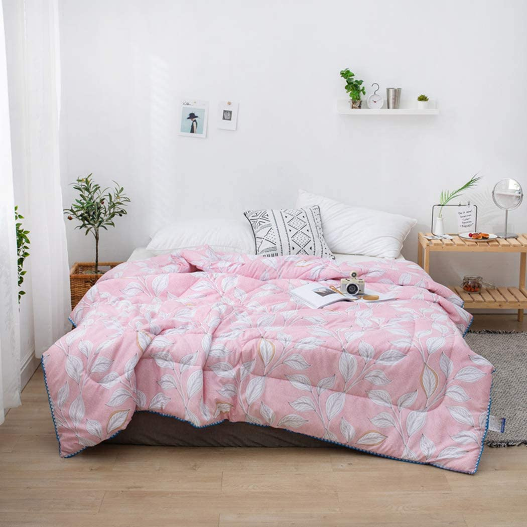 ZIHUAD Bedlinings Cotton and Soybean Summer Quilt Spring and Autumn were Quilt by Children-L-150200CM