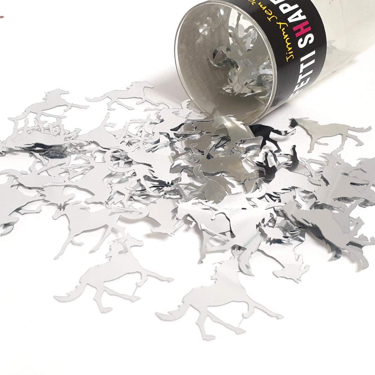 Confetti Horse Silver - Retail Pack #9079 QS0