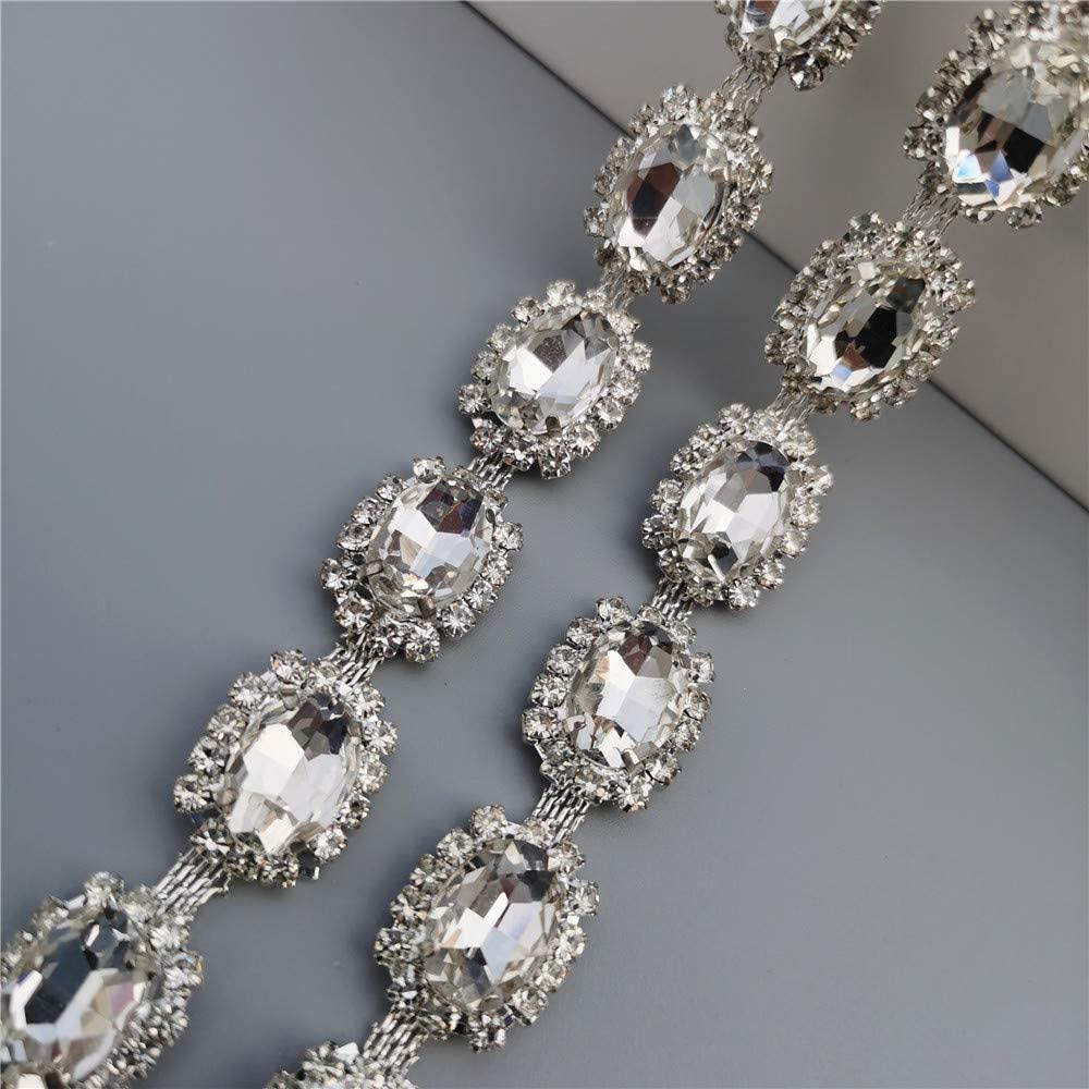 1 Meter Rhinestone Crystal Chain 0.59