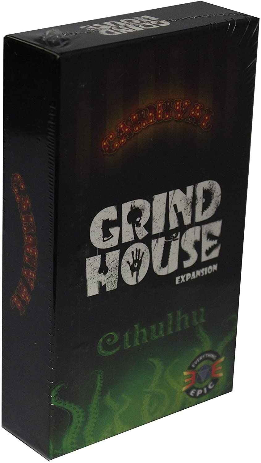 Everything Epic Games Grind House: Carnival and Cthulhu Expansion