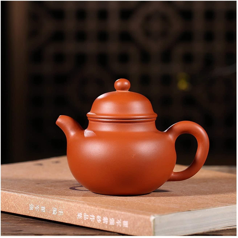Bin Zhang Teapot famous handmade ore Zhuni mini drop-ball pot teapot kung fu tea gift (Color : Purple mud)