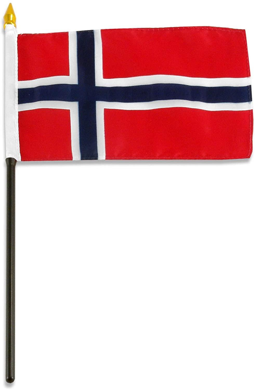 Norway Flag 4 X 6 Inch