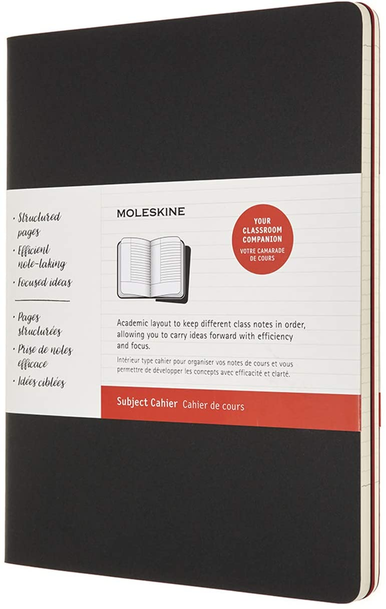 Moleskine Subject Cahier Journal, Soft Cover, XL (7.5