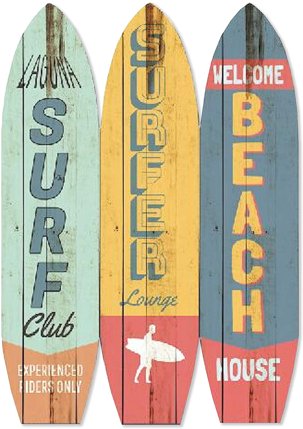Screen Gems Surfboard Screen Room Divider, one Size, Multicolor