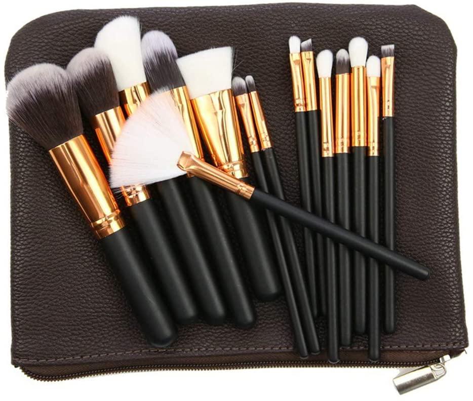 Rachael Professional Makeup Brush Set Makeup Artist Beauty Tools Foundation Blush Brush Eye Shadow Brush with Brush Bag,2