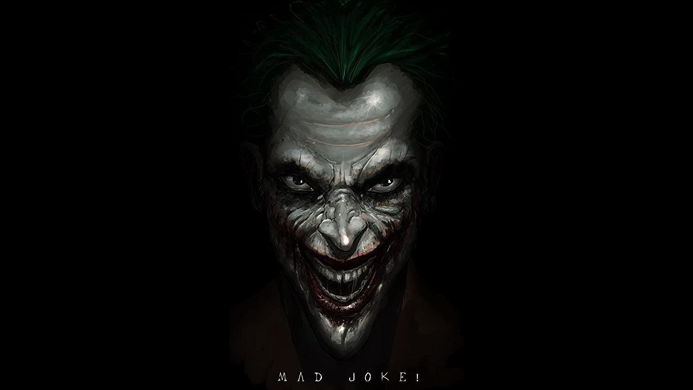HiddenSupplies.com Mad Joker Batman Playmat