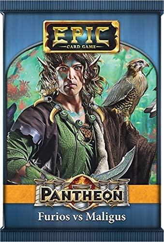 Epic Card Game Expansion: Pantheon - Furios Vs Maligus