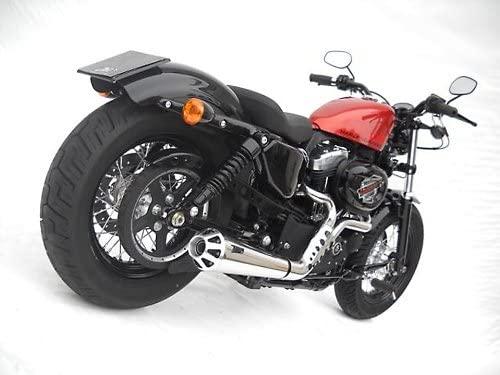 Motorize ZARD Complete System Harley-Davidson Sportster, 06-13, Polished, cat.