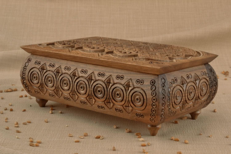 MadeHeart | Buy handmade goods Rectangular Wooden Box