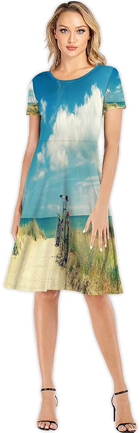 Old Closed Metal Door with Lock Close-up in Colorful Style,Fashion Women Slim Party Dress S