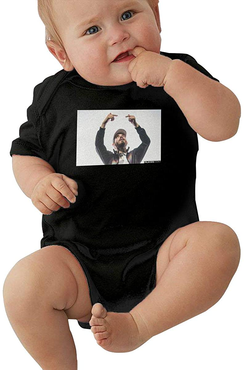 San Hoolo Cool Baby boy and Girl Short Sleeve Jumpsuit Newborn Triangle Romper
