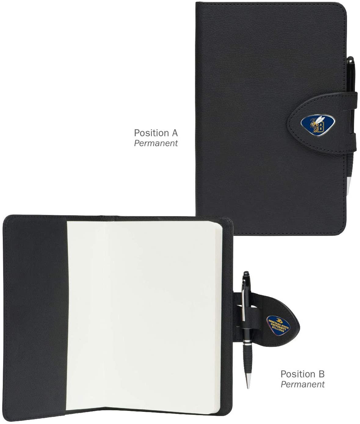 AdSpec NCAA Montana State Bobcats Collegiate Classic NotebookCollegiate Classic Notebook, Black, One Size