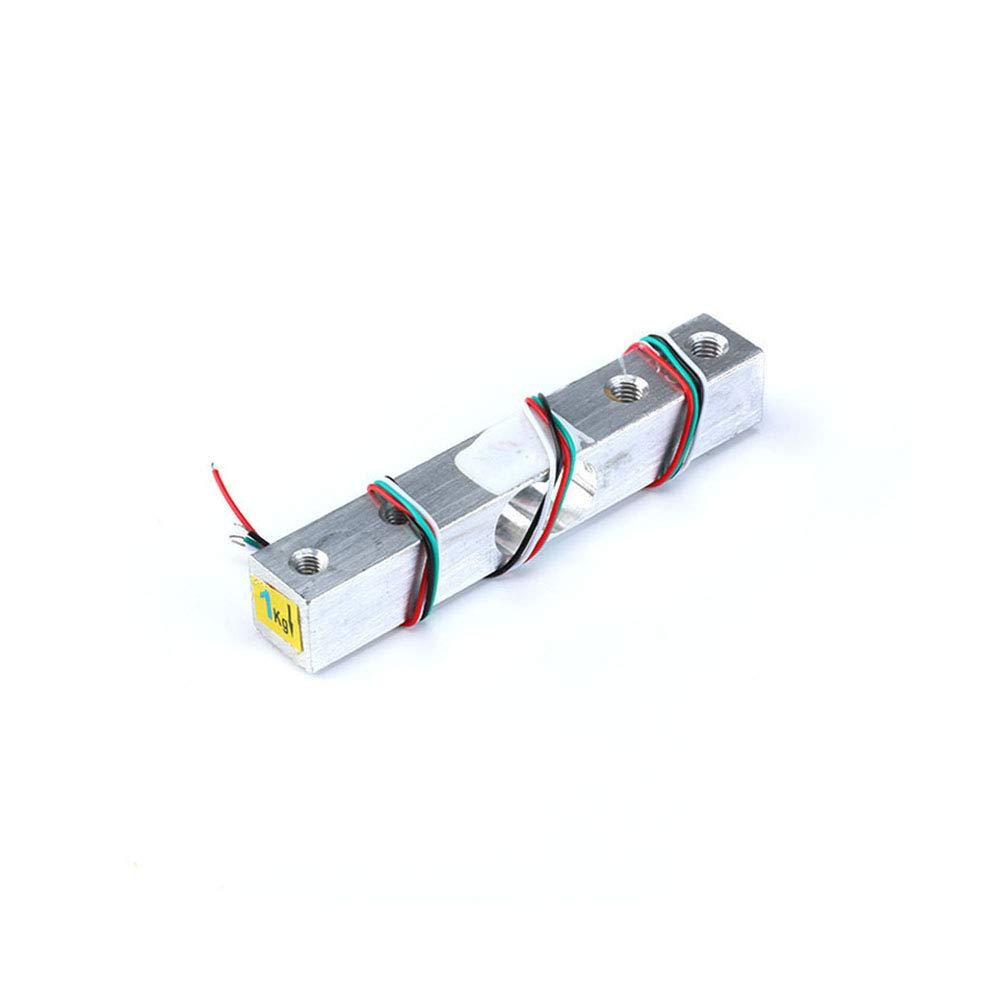 Weight Pressure Sensor Aluminum Alloy Small Range DIY Electronic Scale Sensor 1KG 5KG 10KG 20KG HX711 Module Kit Load Cell,1KG