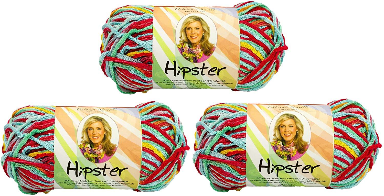 Premier Yarns Deborah Norville Collection Hipster Yarn (3 Pack) Tutti Frutti