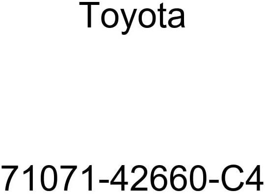 TOYOTA Genuine 71071-42660-C4 Seat Cushion Cover