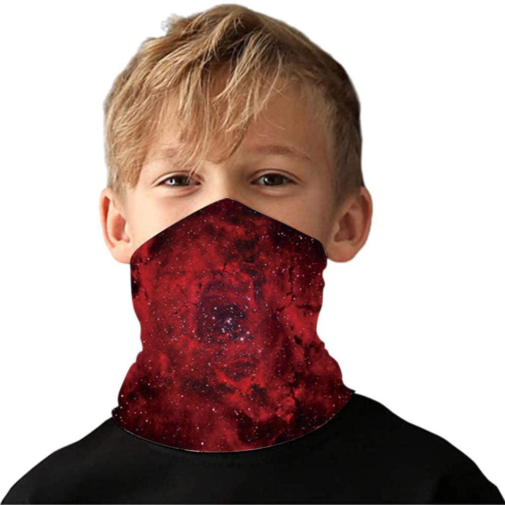 Sunnyys Children's Bandanas Dust Balaclavas Protection for Outdoor Sports SS-0709A099
