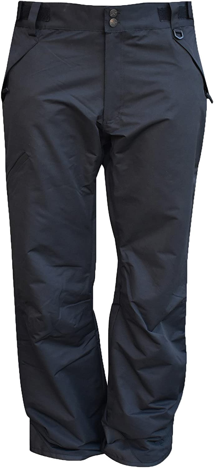Pulse Mens Technical Insulated Snow Skiing Pants Reg and Tall