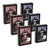 Cards Bicycle Pro Poker Peek (6 pack, mixed)