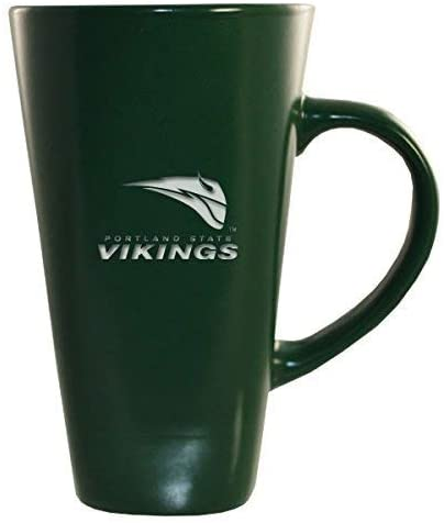 Portland State University -16 oz. Tall Ceramic Coffee Mug-Green