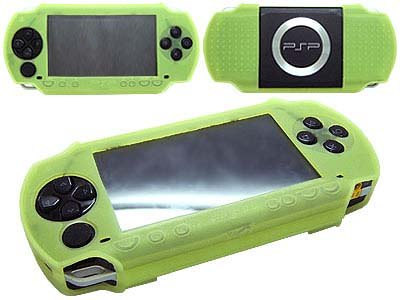 Green Protection Cover for Sony PSP