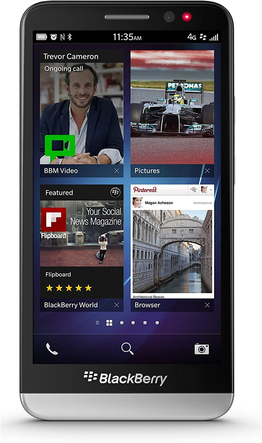 BlackBerry Z30 Factory Unlocked Black - 16GB