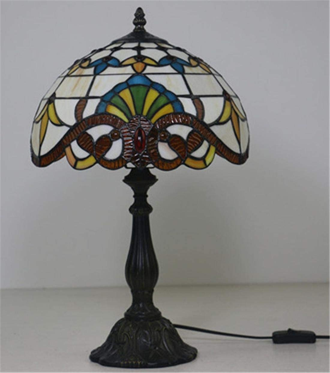 BOSSLV Continental Retro Nostalgia Creative E27 Study Bar Wedding Room Café Parlor Bedchamber Bedside Lamp 2542Cm