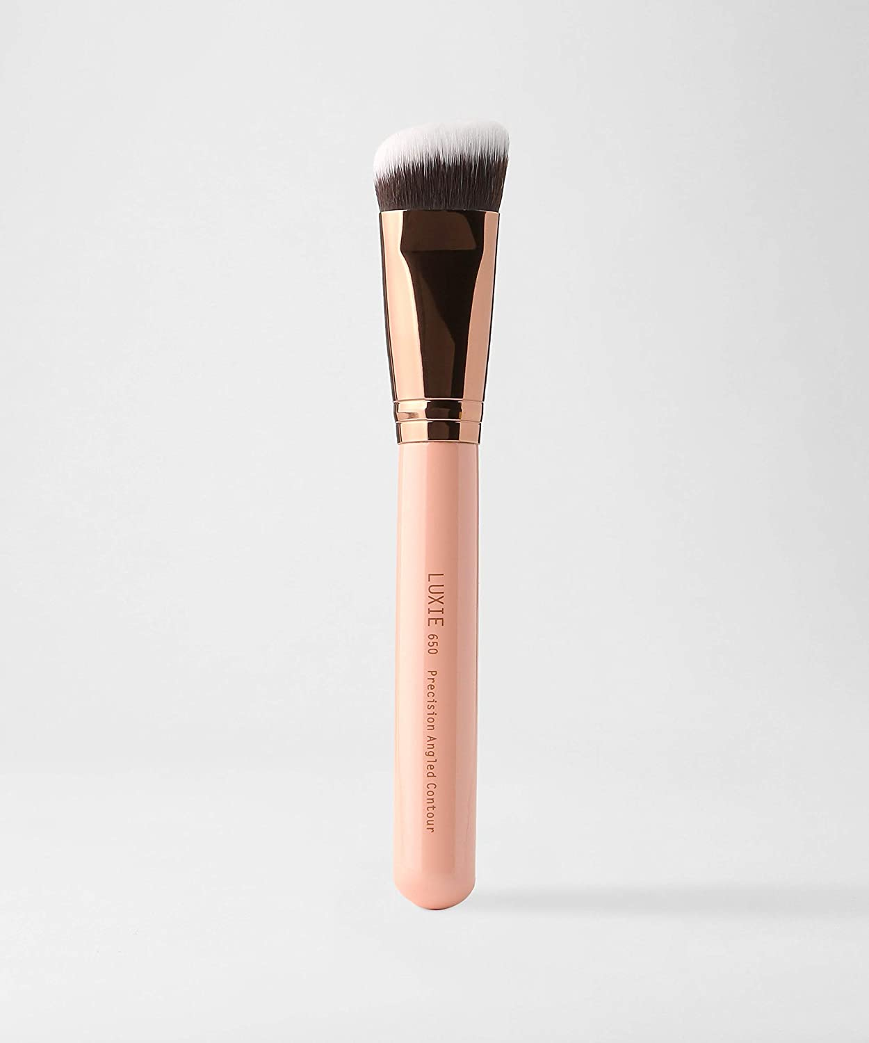 LUXIE 650 Precision Angled Contour Brush-Rose Gold