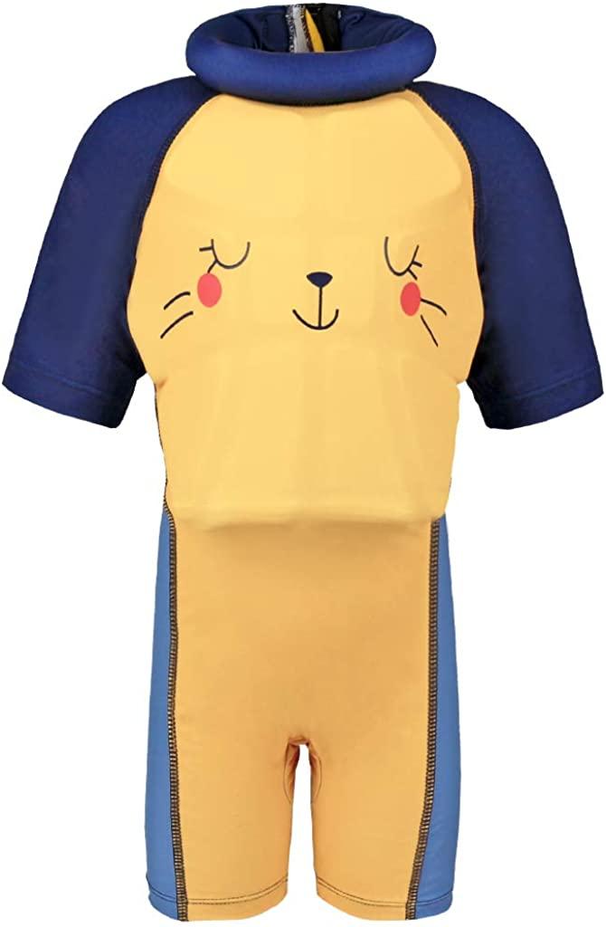 Boys Girls Float Suit Kids Toddler One Piece Shorty Floating Swimsuit Swimwear
