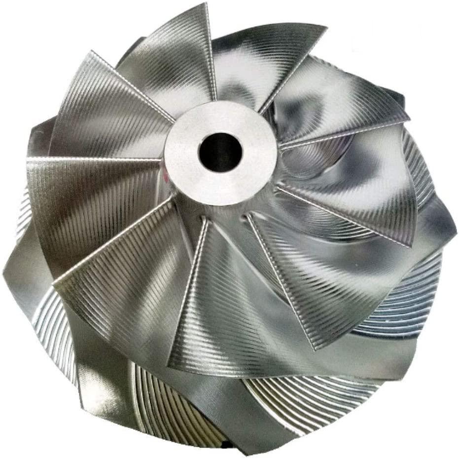 Kinugawa Turbo Billet Compressor Wheel For Garrett GTX3076R Gen II Point Milling 9+0 Blades