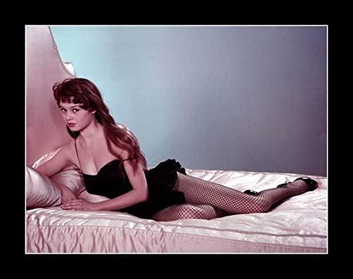 8 x 10 All Wood Framed Photo Bardot, Brigitte In Bed