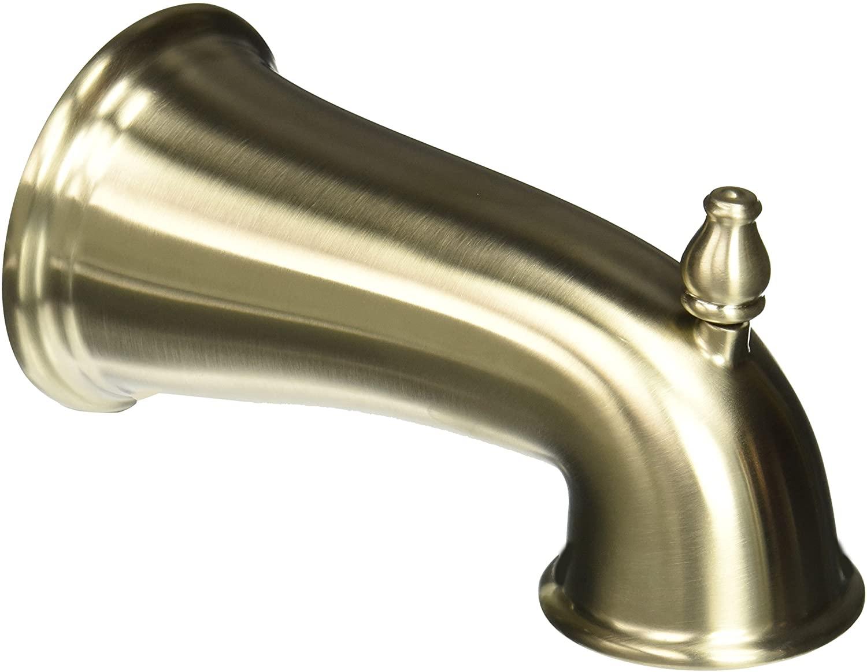 Pfister 920021J Tub Spout with Diverter, Brushed Nickel