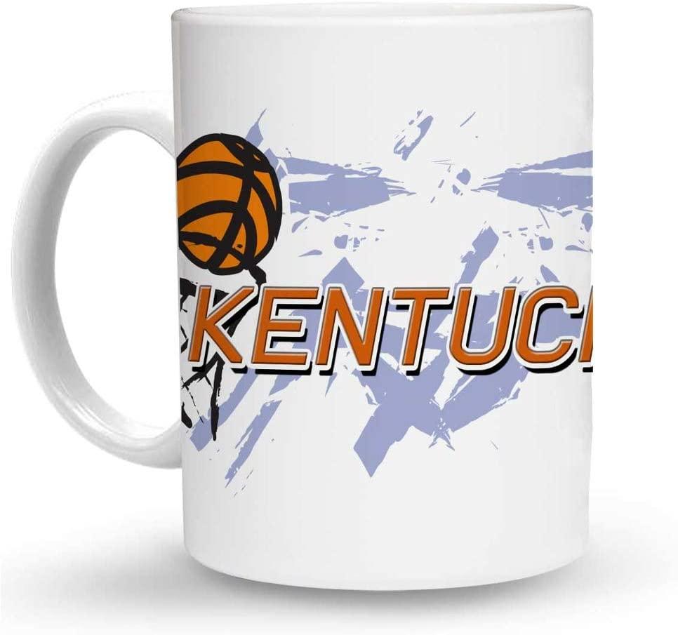 Makoroni - KENTUCKY Basketball 6 oz Ceramic Espresso Shot Mug/Cup Design#34