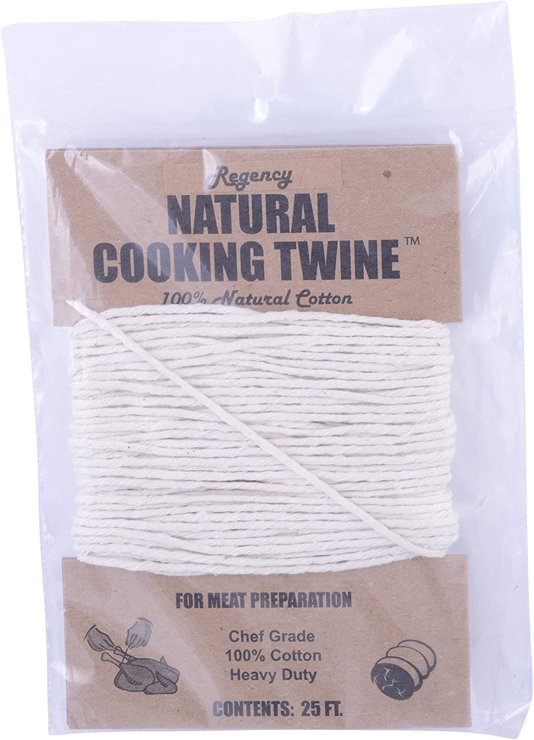 Culinary Accessories Culinary Accessories Meal Preparation Cooking Twine, 100% Natural Cotton 25 feet, FT