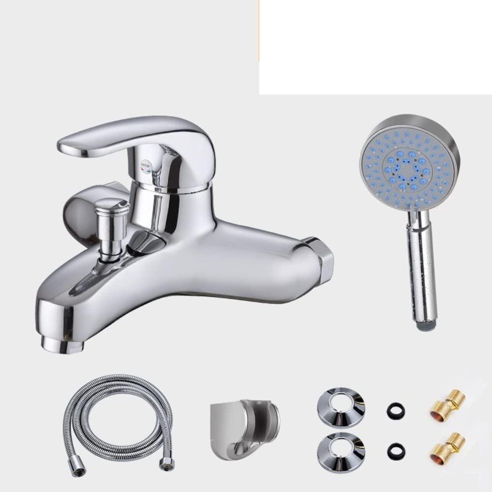 [Bathtub Faucet]/Copper Shower Faucet hot and Cold/Bathroom Shower Set/Toilet Mixing Valve-D