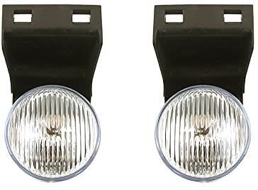 Rareelectrical NEW FOG LIGHT PAIR COMPATIBLE WITH DODGE RAM 4000 1995-97 1998 55055180 55055181 CH2593109 CH2592109