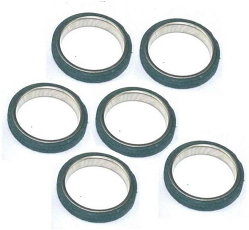 scooter 6 X Chinese Exhaust Gasket GY6 50cc 125cc 150cc QMB139