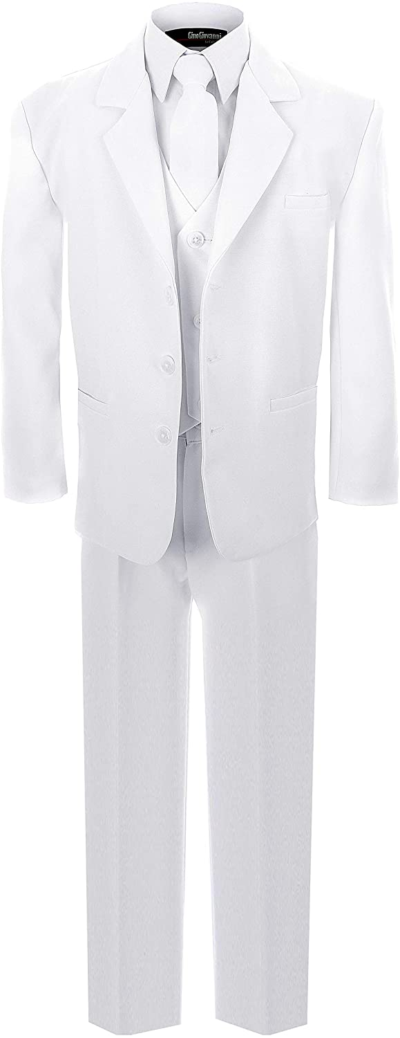 New Formal Suit Set White for Boys Baby to Teen G213 (5)