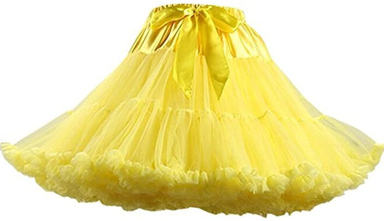 accessories888 Little Girls Soft Tulle Tutu Skirt Princess Petticoat Ballet Dance Dress