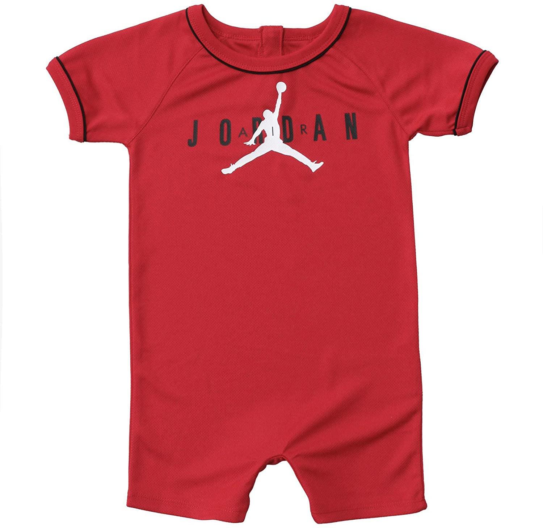 Jordan Baby Basketball Jersey Romper