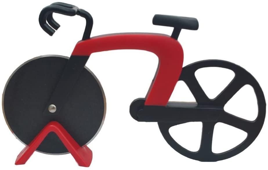 Cucina Vita Bicycle Pizza Cutter Red