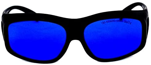 EP-16-9 Wide Spectrum Continuous Absorption Laser 190nm-400nm & 560nm-640nm Safety Glasses