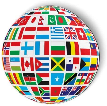 World Flags - Flexible Magnet for Fridge, Locker - 5