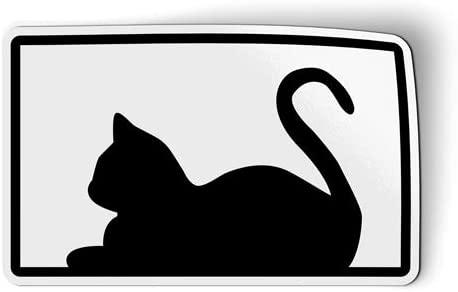 Cat Shape Cute Pet Kitty - Magnet for Car Fridge Locker - 3