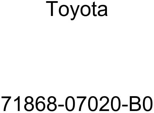 TOYOTA Genuine 71868-07020-B0 Seat Cushion Shield