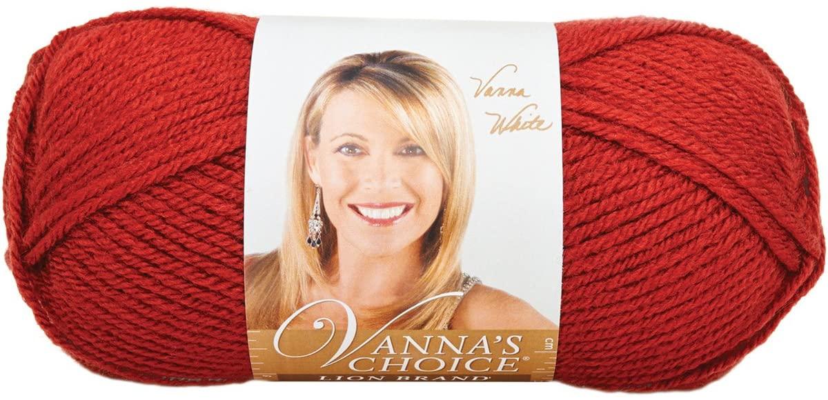 Lion Brand Yarn LBY-031 Vanna's Choice Yarn (133) Brick