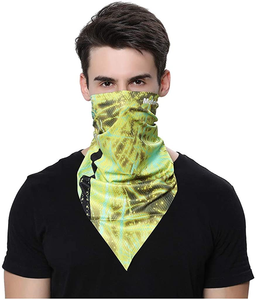 Sunnyys Man 3D Dust Scarves Visor Bandanas Protection for Outdoor Sports Reusable and Washable SS-0709A118