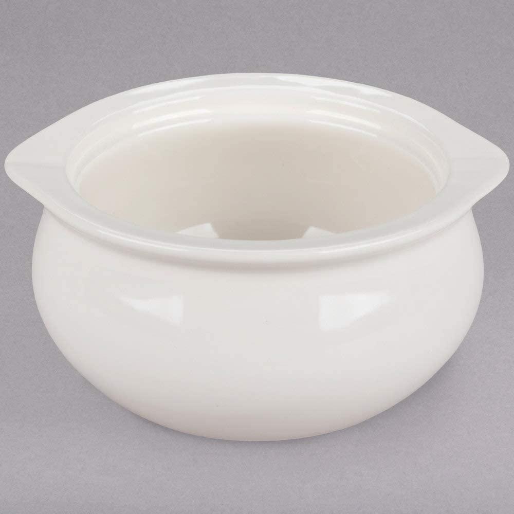 Restaurant China, 12oz Onion Soup Crock/Bowl (4, White)